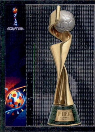 PANINI Femmes Coupe du monde 2019 Sticker 4-Trophy-Intro