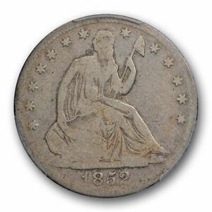 1852 O 50C Seated Liberty Half Dollar PCGS VG 8 Very Good Key Date Tough Coin...