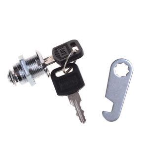 Home-Hardware-2-Schluessel-Cam-Lock-Schrank-Postfach-Schubladenschlos-OX