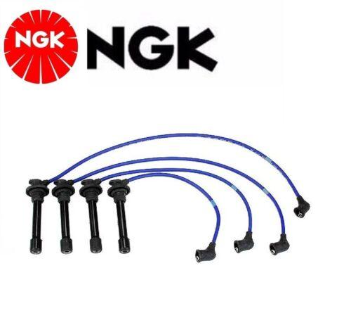 NGK Spark Plug Ignition Wire Set For Nissan Sentra 1995-1999