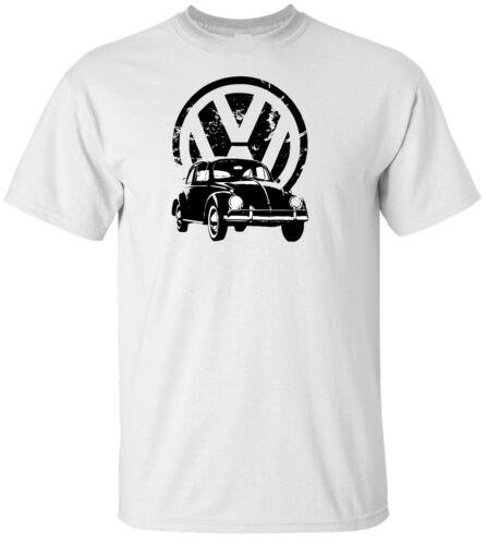 VW Bug /& Logo T Shirt 100/% Cotton Tee by BMF Apparel