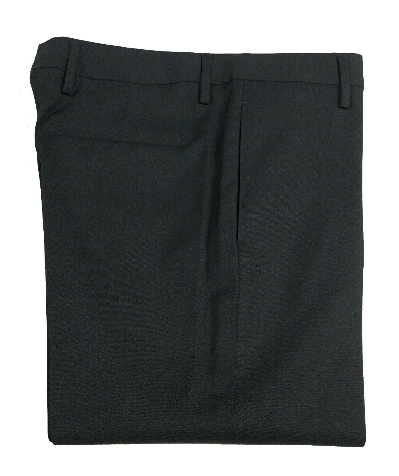 MAURO GRIFONI pantalone uomo grigio tessuto diagonale flanella pesante