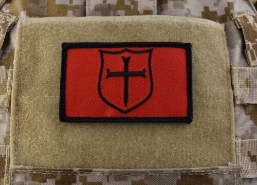 NSWDG Gold Squadron Crusader Shield Patch Black /& Red DEVGRU SEAL Team 6