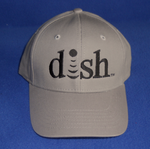 dish Network Gray Ball Cap   DISH Network