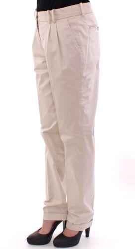 beige coton 380 Nwt L It44 g Us10 chino D en Gabbana Pantalon Eu40 Dolce nFXxIxwqgS