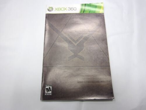 1 of 1 - Halo Reach Instruction Manual Booklet  ONLY!! (XBOX 360)