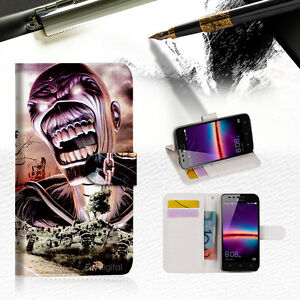 innovative design db354 79479 Iron Maiden Wallet TPU Case Cover For HUAWEI Y6 Elite 4G -- A014 | eBay