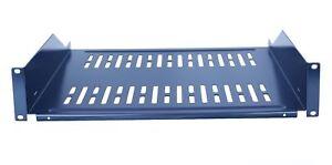 2-Pack-19-034-Vented-Steel-2-Space-2U-Rack-Mount-Cantilever-Network-Shelf-18-034-Deep