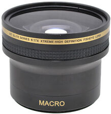 0.17x Hi-Def. Super Fisheye Lens With Macro for Canon Vixia HF G20 G30 G10