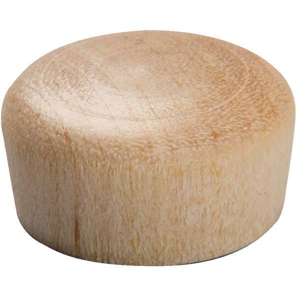 25 Pk Do it 1 2  Dia Wood Hardwood Birch  Round Head Hole Plug 18 Pk 820DI-.5