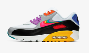 00421455482 Details about Nike Air Max 90 BE TRUE Rainbow Multicolor CJ5482-100 LGBTQ  11 100% Authentic