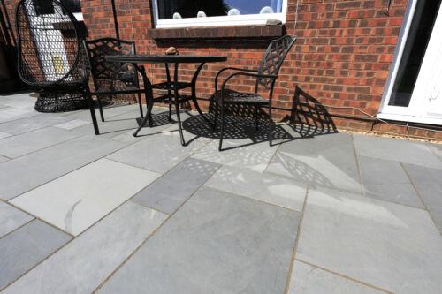 Grey Natural Slate Paving Patio Slab90cm x 60cmPremium Grade A Quality