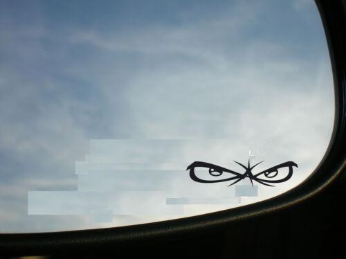 STICKER AUTOCOLLANT LES YEUX OEIL RETROVISEUR CASQUE HONDA TRIUMPH YAMAHA SUZUKI