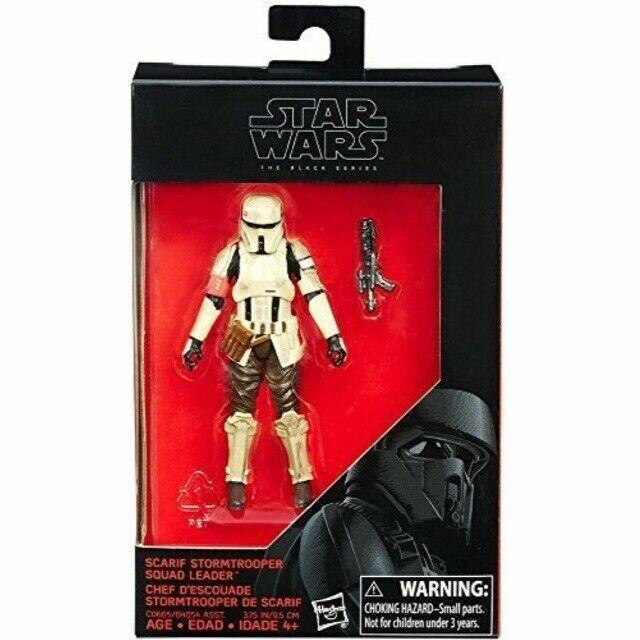 Star Wars The Black Series SCARIF Stormtrooper 3 /& 3//4 En ACTION FIGURE NEW IN BOX
