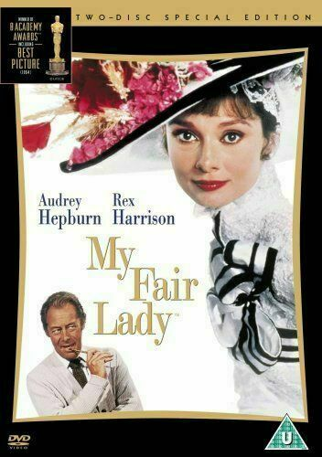 MY FAIR LADY 40th ANNIVERSARY SPECIAL EDITION 2 DISC BOX SET WARNER UK DVD NEW