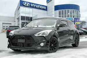 2014 Hyundai Veloster Turbo, NAVIGATION, BACKUP CAM, PANO ROOF, LEATHER