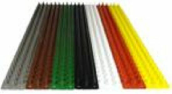 Pk qty of 8 - 500Mm Genuine Prikastrip Yellow Animal Intruder Prikka Strip