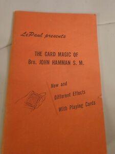 LePaul-presents-The-Card-Magic-of-Bro-John-Hamman-S-M-Paperback-1958