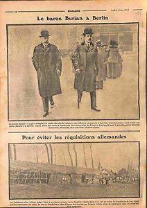 Baron-Burian-de-Rajecz-amp-Comte-Berchtold-a-Berlin-Deutsches-Heer-Belgie-WWI-1915