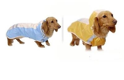 ASUKU Waterproof Comfy Warm Reflective Cute Raincoat For Your Lovely Dog Coat
