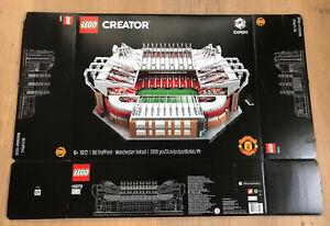 LEGO 10272 Creator Old Trafford - Manchester United Leerkarton/Box/Ovp NEU