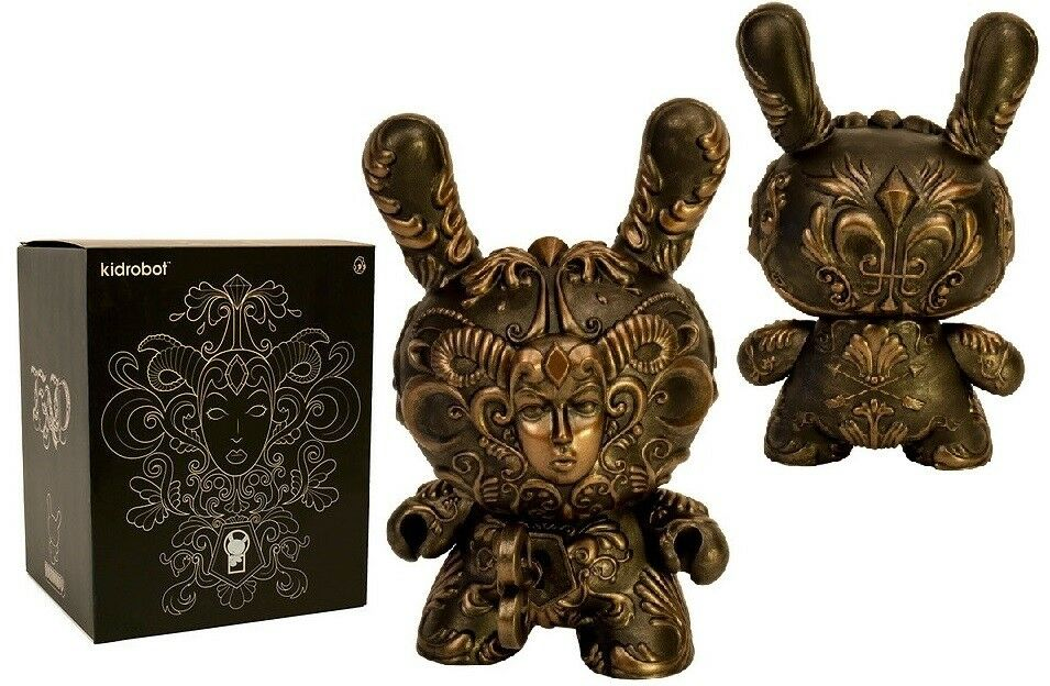 Kidrobot It's a F.A.D. Dunny by JRyu 8-inch Vinyl Figure (NEW)