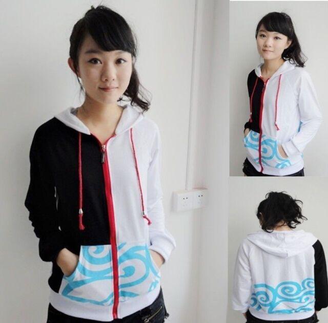 Gintama Sakata Gintoki Clothing Hooded Sweatshirt Cosplay Hoodie M--XXL   big