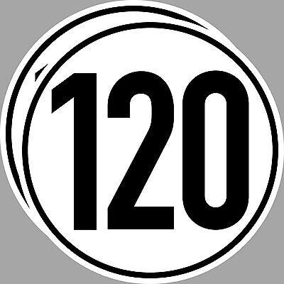4 Aufkleber Sticker 6 kmh km//h 20cm Geschwindigkeit Auto Bus Kran TÜV DIN1451