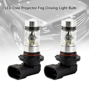 2x-9005-HB3-9145-H10-8000K-100W-LED-Ampoule-Projecteur-Brouillard-Voiture