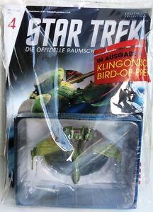 STAR TREK Official Starships Magazine #4 Klingonischer Bird-of-Prey Eaglemoss
