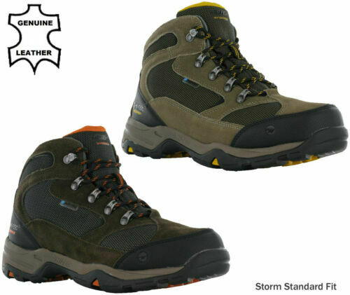 GUGGEN Mountain Chaussures de Randonnee Chaussures Montantes Hiking Boots Unisex M013 Bottes et Boots Impermeables Homme,