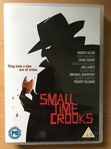 Small-Time-Crooks-DVD-2000-Woody-Allen-Comedy-Caper-Film-Movie