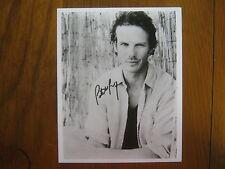 PETER  BERG (Chicago  Hope/Battleship/The  Rundown) Signed  8 X 10  B & W  Photo