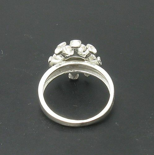 Extravagant Sterling Silver Ring Solid 925 Size 3.5-11 Handmade Empress