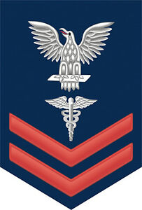 Hospital-Corpsman-HM-2nd-Class-E-5-Red-Rank-3-8-034-Sticker-Decal