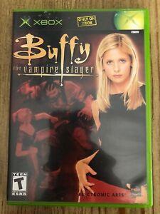 Buffy-The-Vampire-Slayer-Microsoft-Xbox-Complete-W-box-amp-Manual