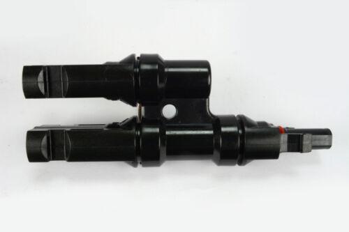 6x TEMCO 30 A T branch panneau solaire connecteur Set Y Splitter Coupleur combiner