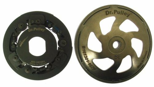 Pulley QMB139 HiT Clutch with Bell 161301 Piaggio PGO Kymco SYM Dr