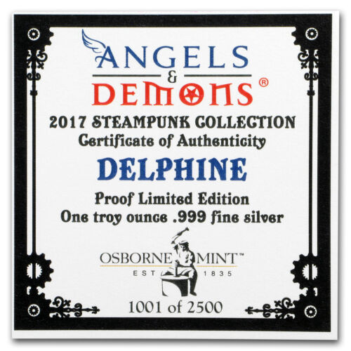 1 oz Silver Proof Round Angels /& Demons Series Delphine - SKU#153115