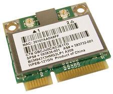 Compaq Presario CQ62-215DX, HP G62 - WiFi Wireless Mini Card - 593836-001 TESTED