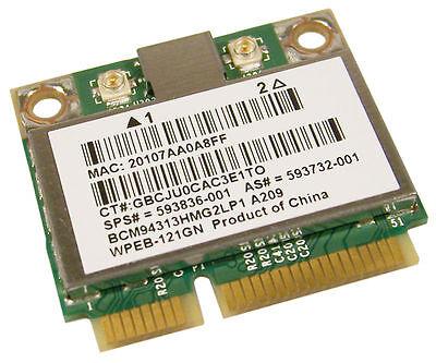 Wireless N Card 4320s 4520s 5330m 6360b 6450b 6460b 6465b 6455b 6550b HP ProBook