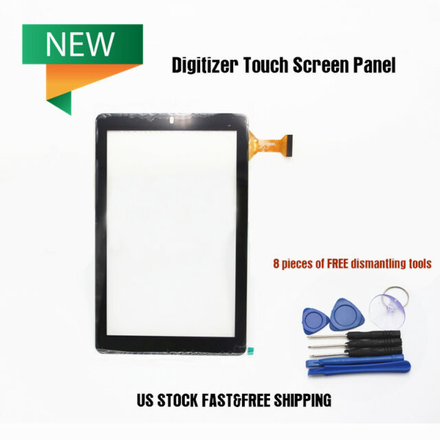 """For RCA 10 Viking Pro 10.1/"""" RCT6303W87DK Black Touch Glass Screen Digitizer US"""