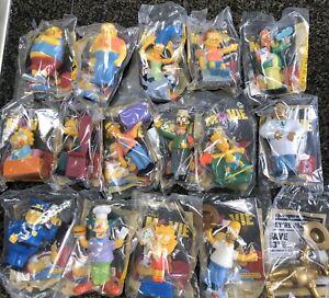 Nip Complete Set 16 The Simpsons Movie Burger King Kids Meal Toy 2007 Ebay