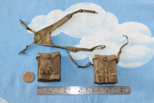 DID Dragon In Dreams 1:6TH échelle WW2 U.S 77th infan Medic Sachets /& porte-jarretelles