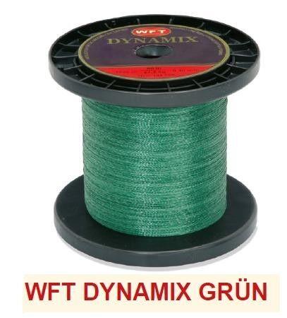WFT Dynamix Schnur geflochtene 1000m 0,12mm-0,40mm 0,06€//1m