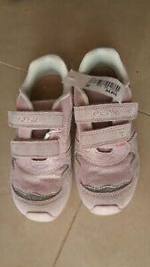 Geox Sneaker Schuhe Klettverschluss rosa glitzer Mädchen Gr. 24