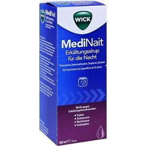 Wick MediNait Erkältungssaft   für die Nacht    180 ml    PZN 1689009