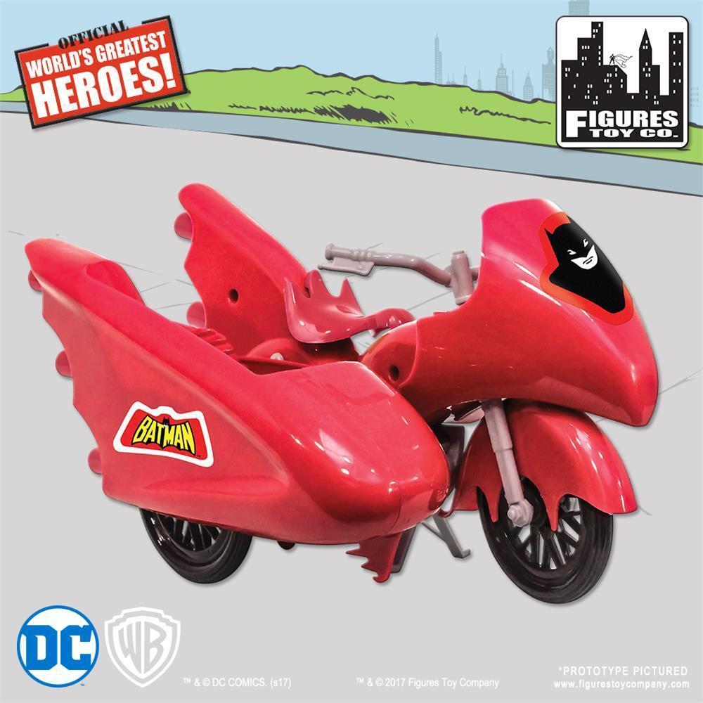 Nuevo Retro Batman Batman Y Robin DC Comics Rojo baticiclo Jugarset
