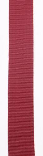 Masonic Regalia-RUBAN MARRON plain