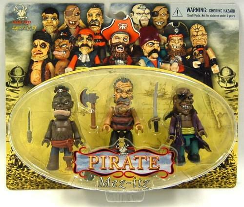 Pirate Mez Itz Figure Pack Of 3 Set A